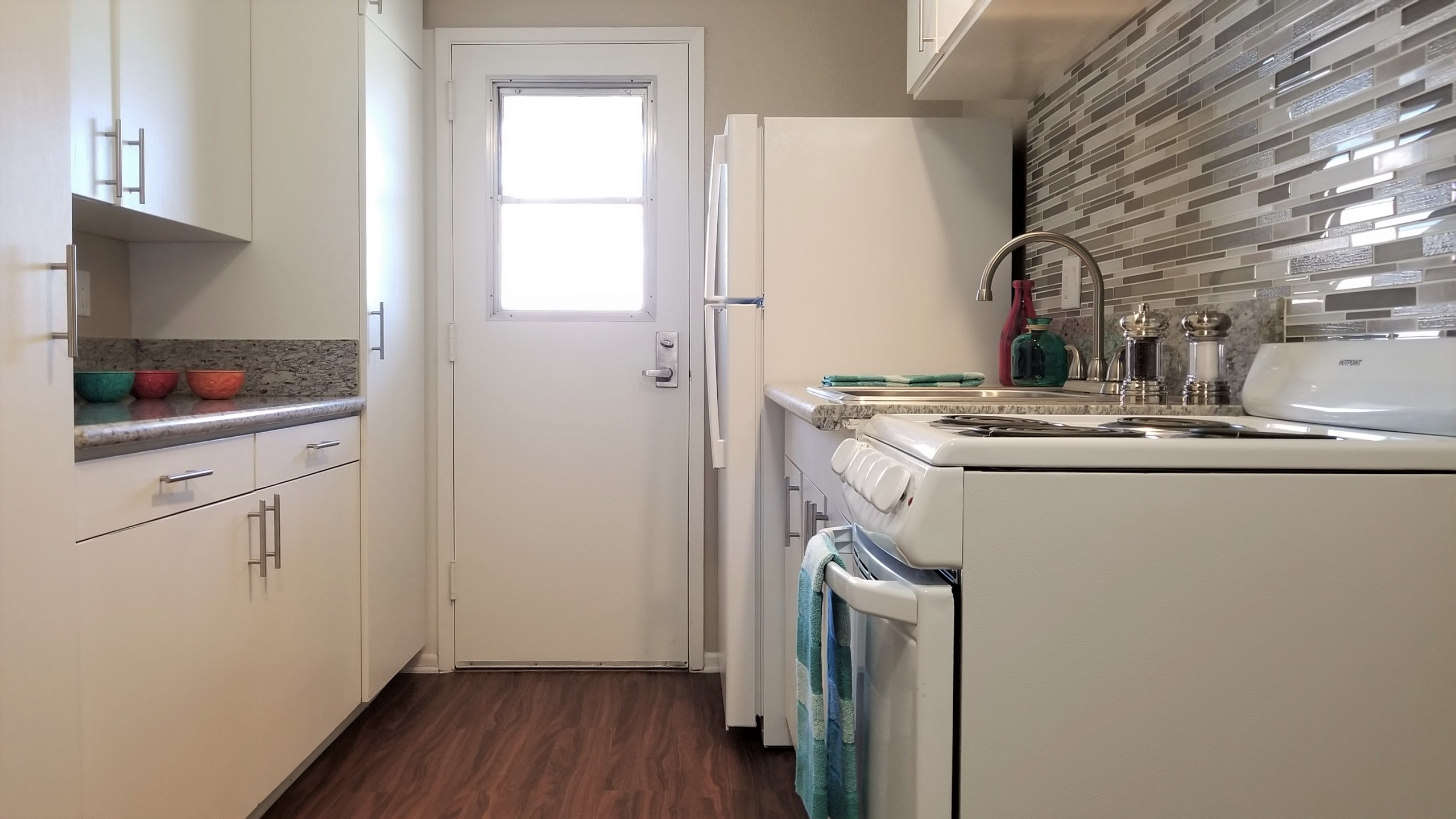 Cypress Senior Aparments kitchen interior